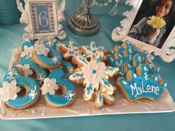 Frozen Cookie Theme