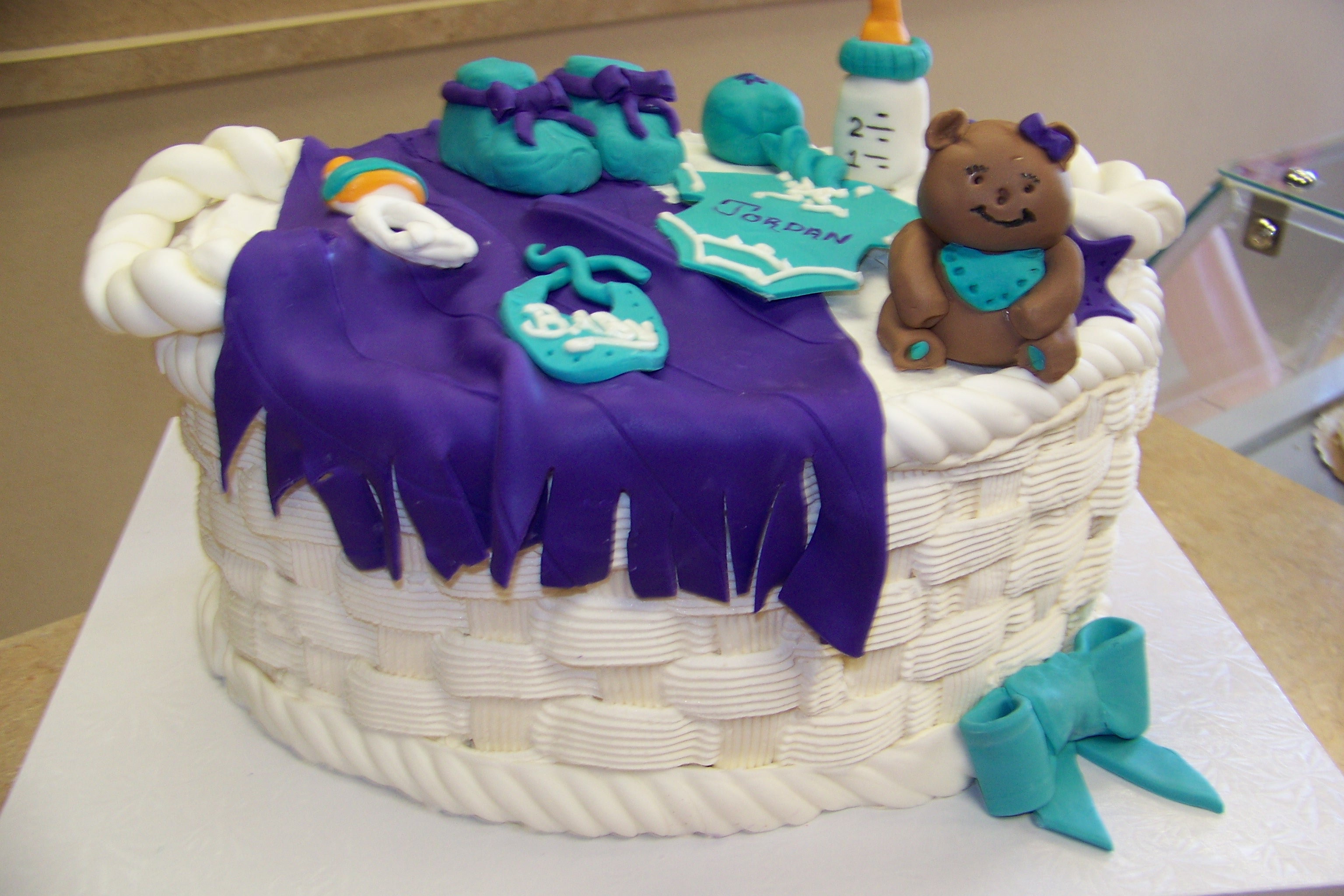 Babys Shower Kit Cake