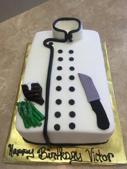 Chef Coat Cake