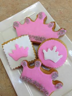 Princess Theme Cookies