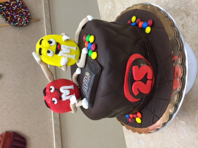 M ans M Cake