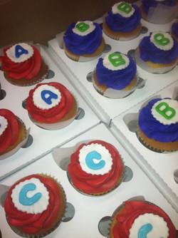 Alpahbet Cupcakes