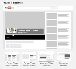 Promoted Overlay Video