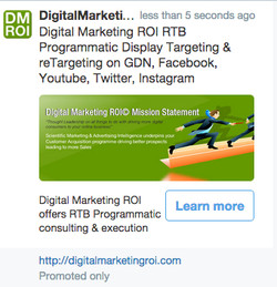 dMROI Promoted Twitt