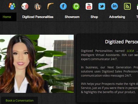 I create Digitized Personalities