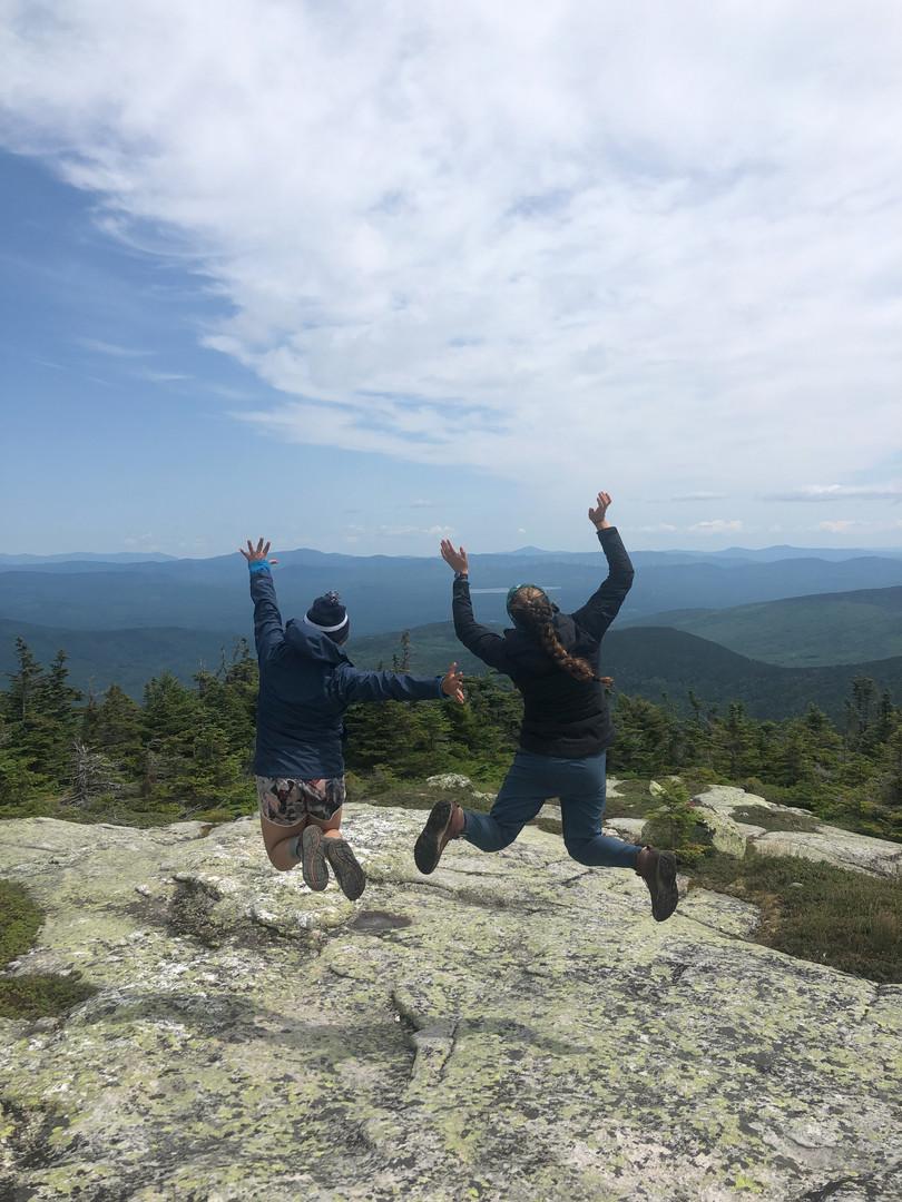 Mountain top fun