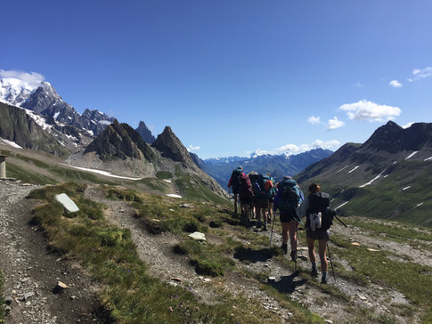 Hiking the Alps