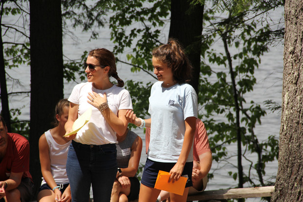 Mother & daughter speak at Sunday in the Pines