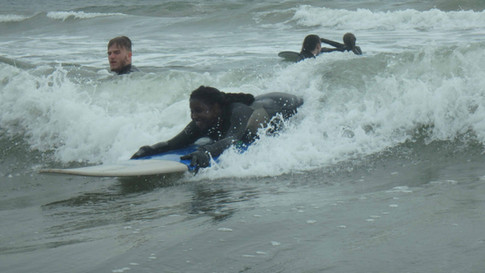 Nova Scotia surfing