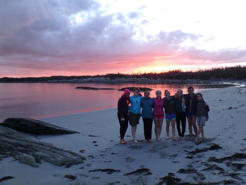 Nova Scotia sunset