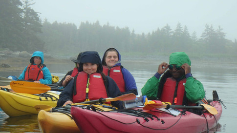 Nova Scotia sea kayaking