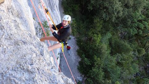 Rock Climbing in France