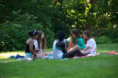 Tent picnics