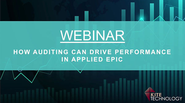 How Auditing Can Drive Performance in Applied Epic