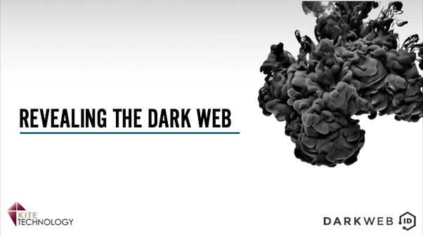 Webinar about what happens in the Dark Web and how businesses can stay secure