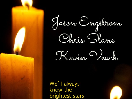 In Memory of Friends Who Have Passed in 2018...