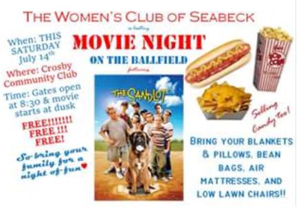 (New) Movie Night (July 14, 2018)