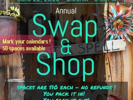 Swap & Shop (June 22,2019)