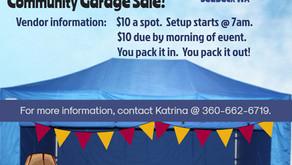 (New) Swap & Shop / Community Garage Sale - June 2, 2018