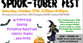 (New) 2018 Kids'Spook-tober Fest (October 27, 2018)