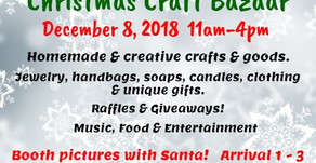 Seabeck-Holly Christmas Craft Bazaar (December 8, 2018)