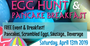 2019 Easter Egg Hunt & Breakfast (April 13, 2019)