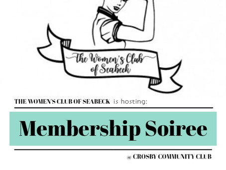 Women's Club - Membership Soiree (January 11, 2019)