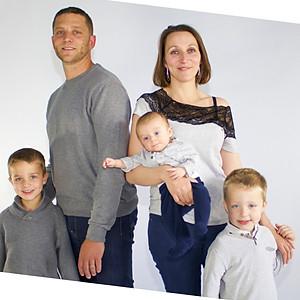 famille Aurélie et Phiphi