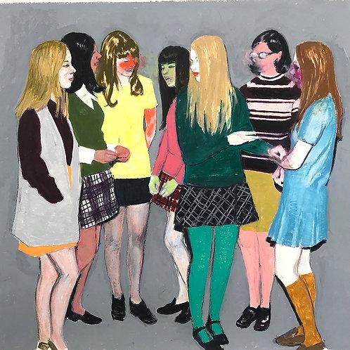 LINDA AND FRIENDS - Mercedes Helnwein