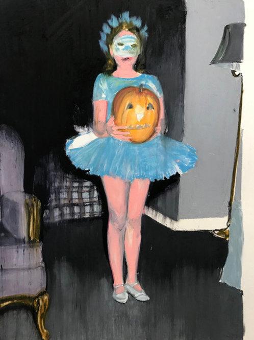 PUMPKIN GIRL - Mercedes Helnwein