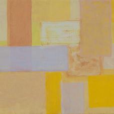 Komposition mit leuchtendem Gelb