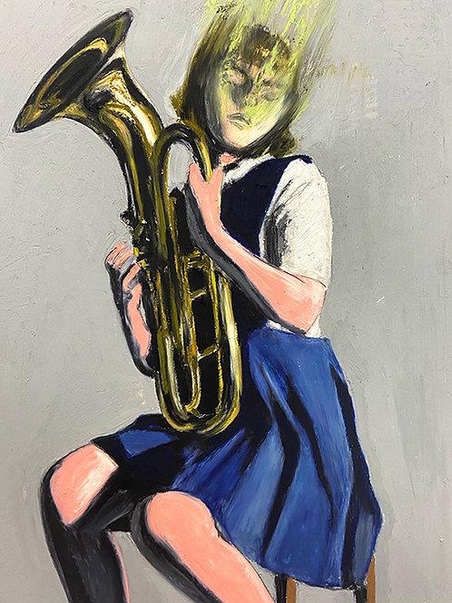 SUMMER WITH BARITONE HORN - Mercedes Helnwein