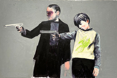 TWO KIDS - Mercedes Helnwein