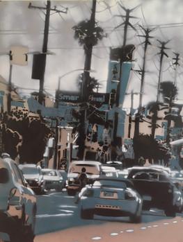 Ocean Avenue Los Angeles - Wolfgang Uranitsch