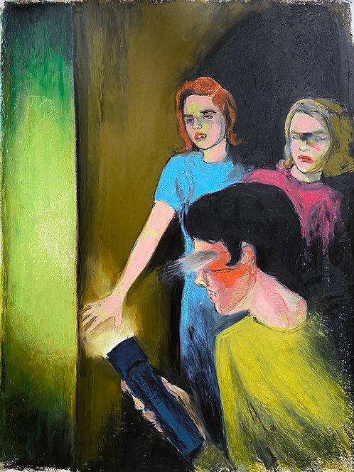 GIRLS AND MYSTERY - Mercedes Helnwein