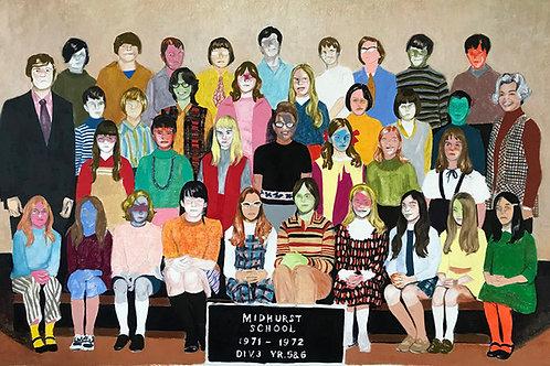CLASS PICTURE VII - Mercedes Helnwein
