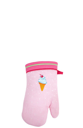 Ice Cream Treats Oven Mitt