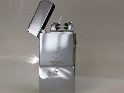 "SILVER ""X"" Elite Plasma Lighter (Double Arc)"