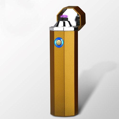 Plasma 'OCTO' Lighter (Charcoal Gold)