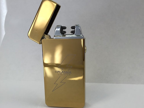 "GOLD ""X"" Elite Plasma Lighter (Double Arc)"
