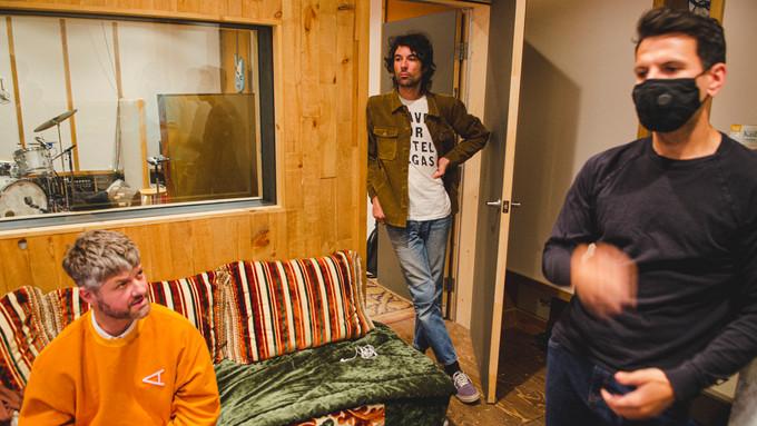 En studio avec Pierre Lapointe