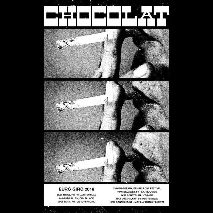 Chocolat - Tournée européenne (photos)