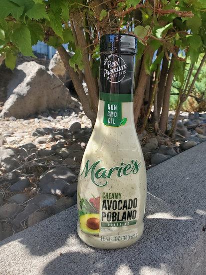Marie's Creamy Avocado Poblano Dressing