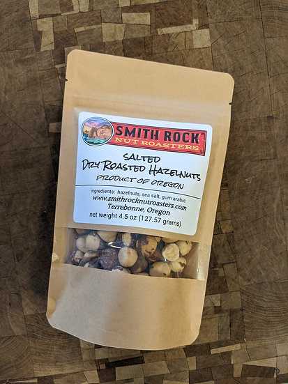 Salted Dry Roasted Hazelnuts