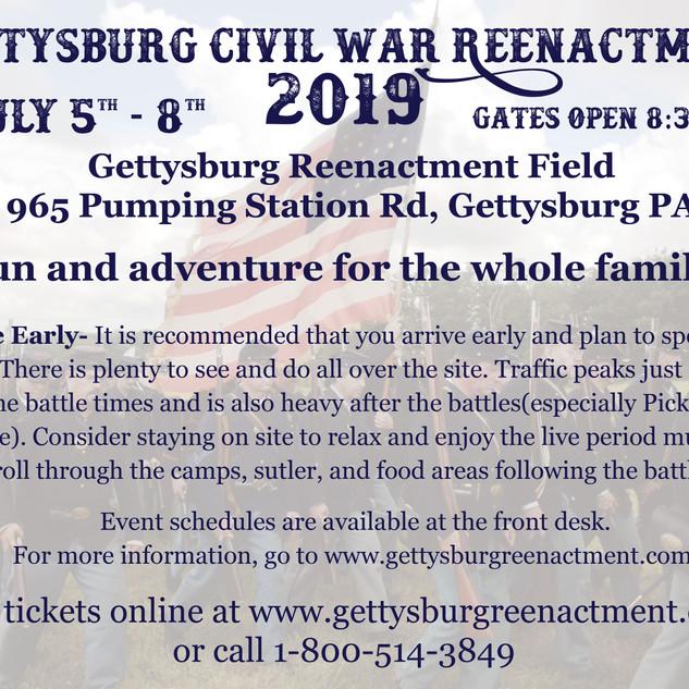 Civil War Reenactment Info