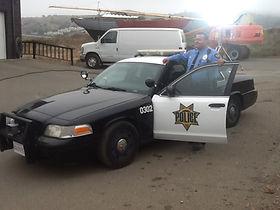 Officer Grigsby on set 9.11.14.jpg