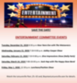Entertainment Committee Save the Dates D