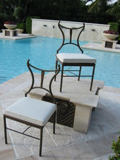 Aegeo dining chairs