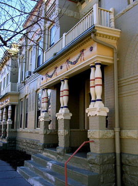 Denver victorian row house