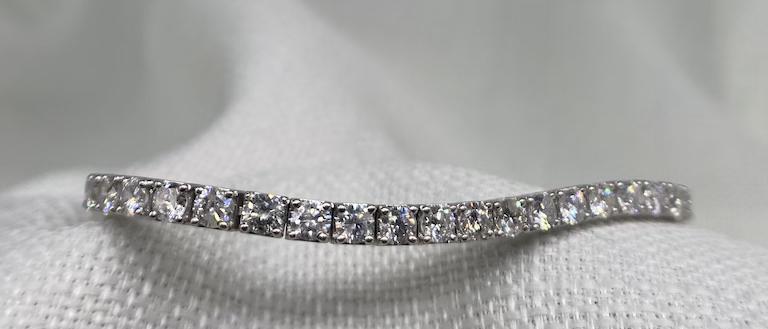 7.9 carat diamond bracelet